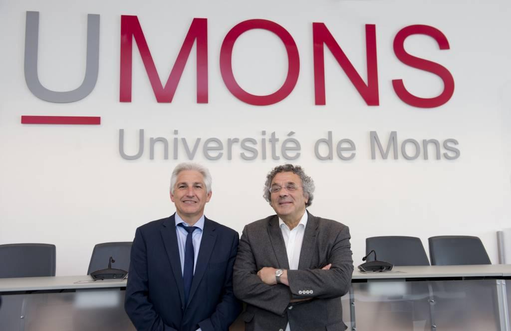 Le Prof. Philippe Dubois élu avec 83% prochain Recteur de l'UMONS à partir du 01/10/2018
