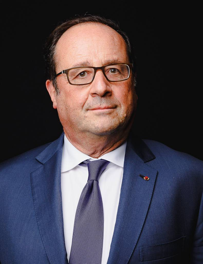 Le Président F. Hollande distille ses leçons du pouvoir en conférence à l'UMONS