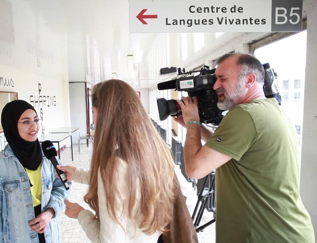 Une trentaine de réfugié.e.s ont reçu leur attestation de maîtrise du français à l'UMONS
