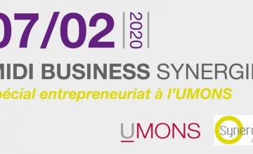La fibre entrepreneuriale estudiantine mise en avant lors du 1er Midi Business organisé à l'UMONS