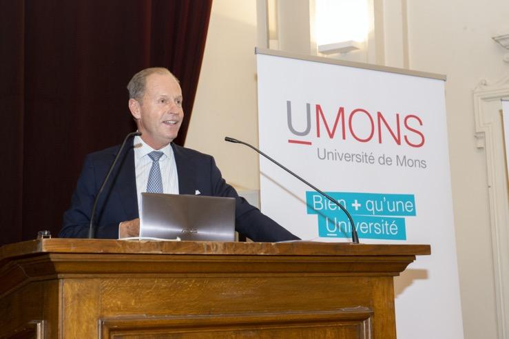 Conférence «Entreprendre et investir dans un monde post-covid par le le Professeur Roland Gillet