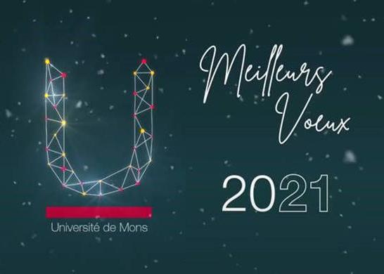 Vœux 2021 - Message vidéo des autorités de l'UMONS