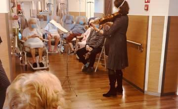 L'UMONS, l'Orchestre royal de Chambre de Wallonie et EpiCURA, partenaires d'une expérience de musicothérapie inédite en milieu hospitalier