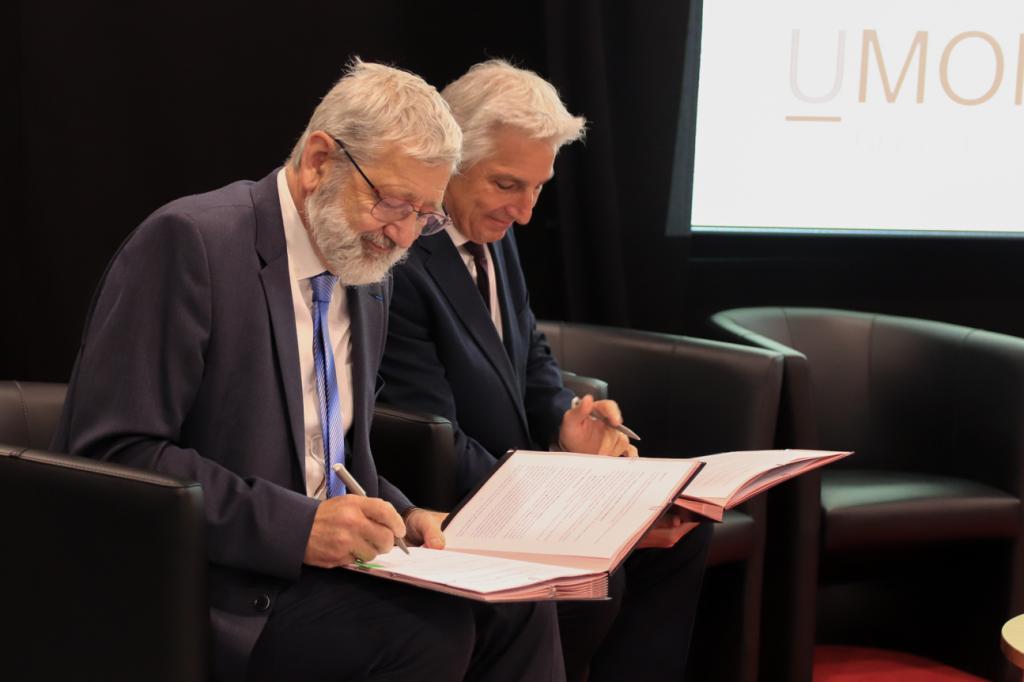 L'UMONS et l'IMT Nord Europe signent un Memorandum of Understanding (MoU)