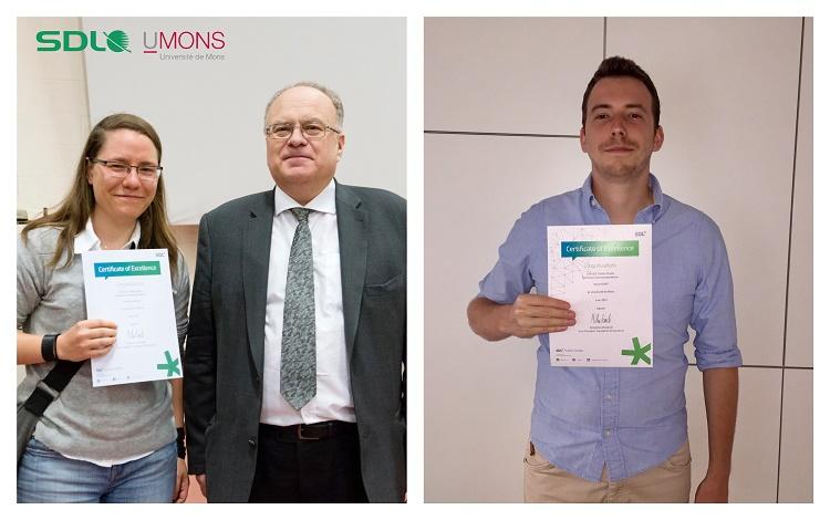 Deux étudiants méritants de la FTI-EII récompensés par un logiciel d'aide à la traduction