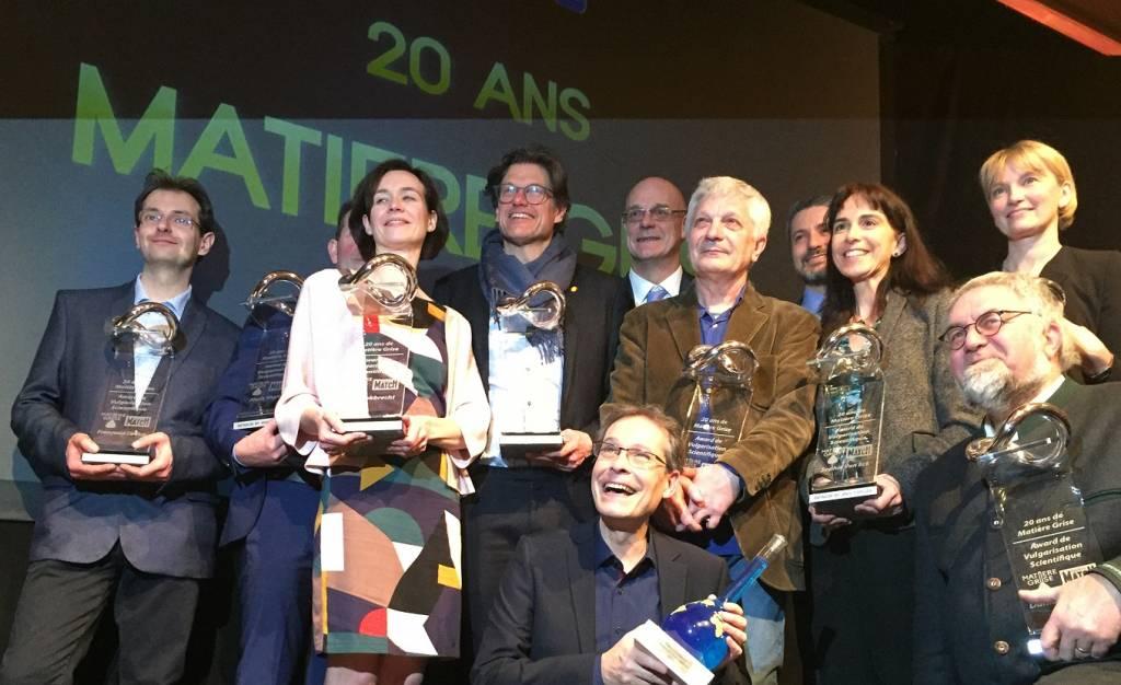 Un Trophée « Matière grise » de Vulgarisation Scientifique et une nomination pour deux physiciens de l'UMONS
