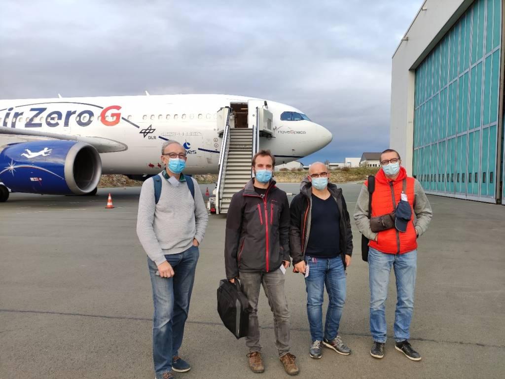 Des chercheurs de l'UMONS à nouveau sélectionnés pour réaliser des expériences en vols paraboliques avec l'Agence Spatiale Européenne