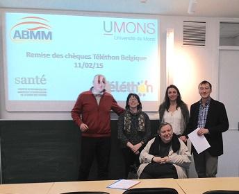 60.000 euros accordés à des chercheurs de l'UMONS par l'Association belge contre les maladies neuromusculaires