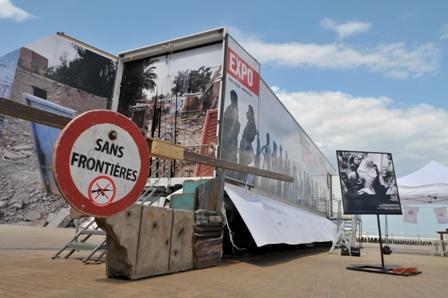 Exposition gratuite de Médecin Sans Frontières