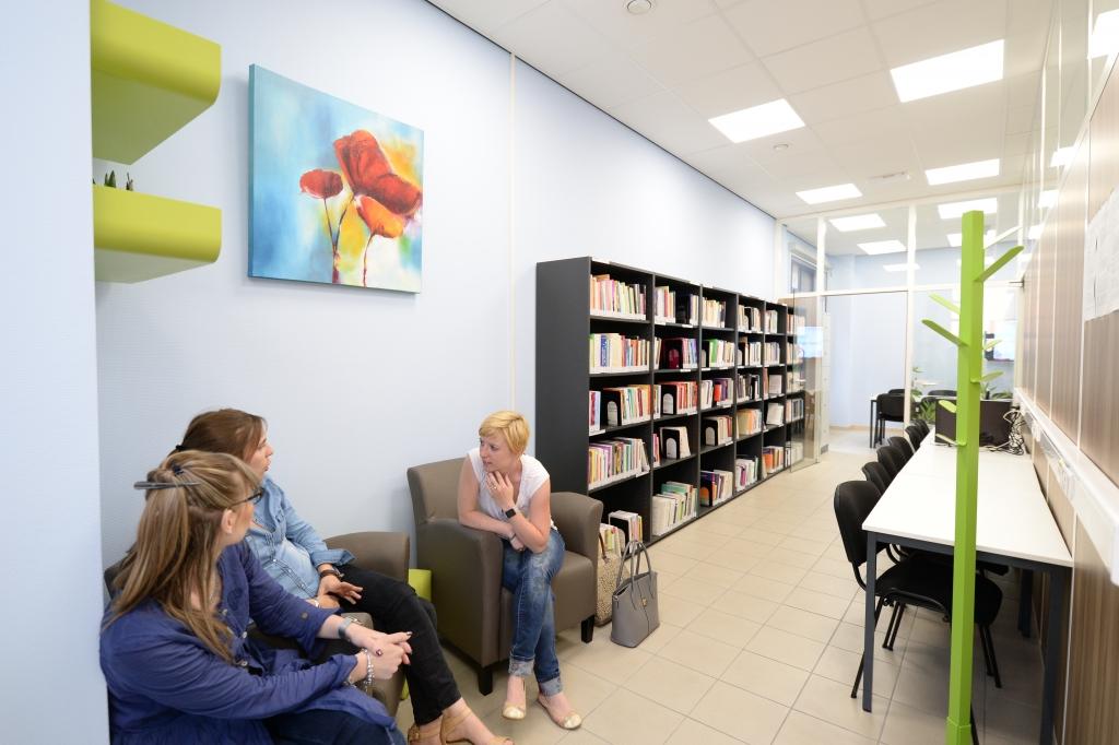 Inauguration du Premier Learning Centre de l'Université de Mons sur le campus de Charleroi !