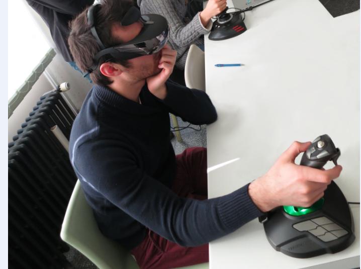 Recherche sur la représentation spatiale et réalité virtuelle chez les étudiants