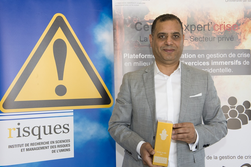 Un enseignant-chercheur de la FPMs et de l'Institut Risques, ingénieur de l'année des Diwan Awards décernés par la communauté belgo-marocaine