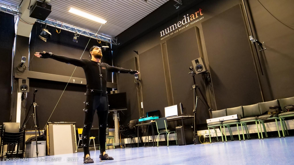 CLICK' – Tests de Motion Capture avec Okus Lab