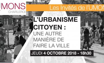 On parle urbanisme et développement urbain à l'UMONS Charleroi !