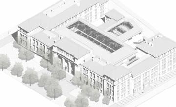 Nouvelle étape importante dans les travaux de modernisation du CampusUCharleroi