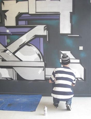 Du live painting à la