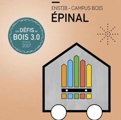 L'UMONS et ses étudiants en architecture se distinguent à Epinal aux Défis Bois 2017