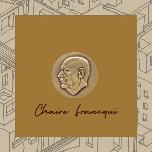 Dans le cadre de la Chaire Francqui, la FA+U a eu l'honneur de recevoir Thierry PAQUOT, Professeur émérite à l'Institut d'Urbanisme de Paris, philosophe de l'urbain.