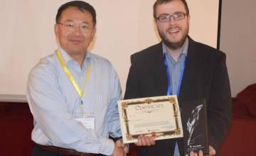 Le prix pour la meilleure présentation à Salamanque pour un assistant au Service de Génie mécanique