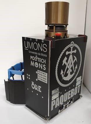 L'équipe de la Polytech 3e à la Coupe de robotique du Pass