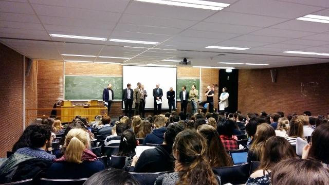 Les étudiants du bloc 3 ont été accueillis à l'ULB !