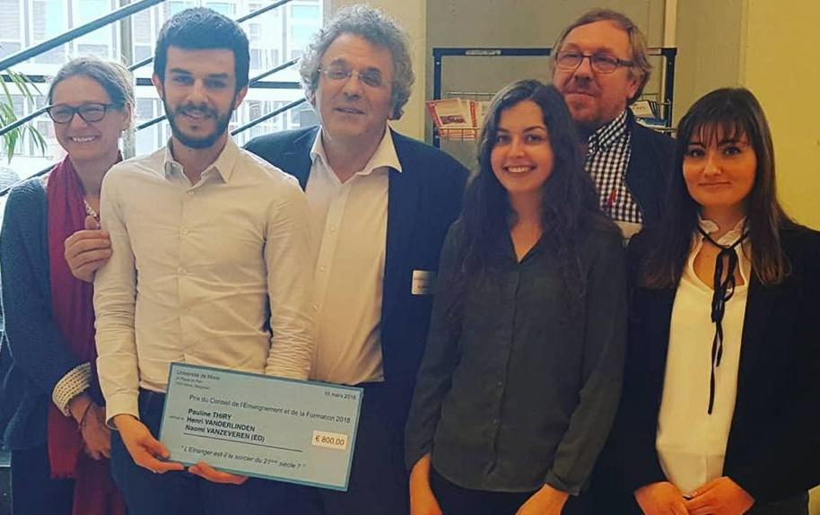 Coup double pour l'Ecole de Droit :  le Prix du Conseil de l'Enseignement et la 2e place au Prix de l'innovation pédagogique