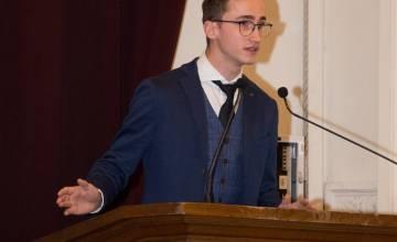 Loïc Roosens remporte le prix Eloquentia Mons 2021
