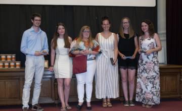 Ce mercredi 26 juin, l'ESHS proclamait ses 1ers diplômés du METIS